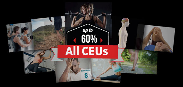 Up to 60% off CEU Courses