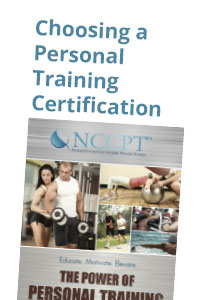 Choosing a Personal Training Certification