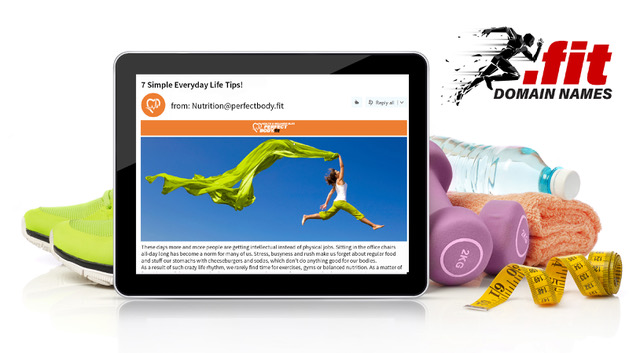 Get Your .FIT Web Address Now!